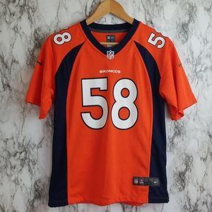 Nike Denver Broncos Miller Jersey Authentic